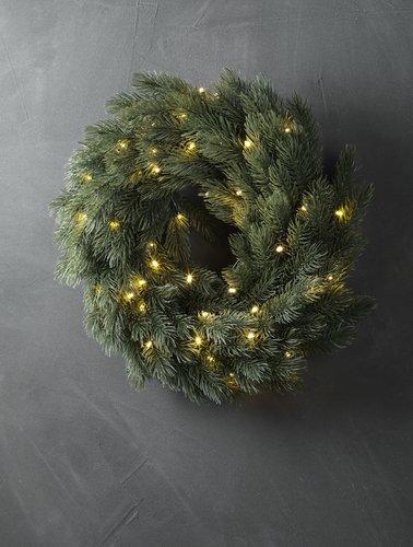 Новогодний венок LED