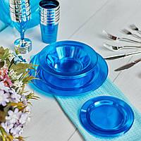 Одноразовая посуда для праздника. Полная сервировка стола 90 шт 6 чел Capital For People, фото 1