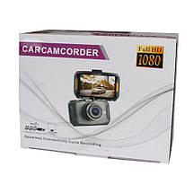 Автомобильный видеорегистратор HD 388 Full HD 1080P одна камера   Регистратор в машину, фото 3