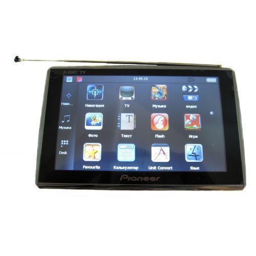 Автомобильный GPS навигатор Pioneer - 5 TV