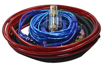 Комплект проводів для сабвуфера 8055 | Дроти для підключення підсилювача для сабвуфера, фото 2