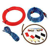 Комплект проводів для сабвуфера 8055 | Дроти для підключення підсилювача для сабвуфера, фото 3