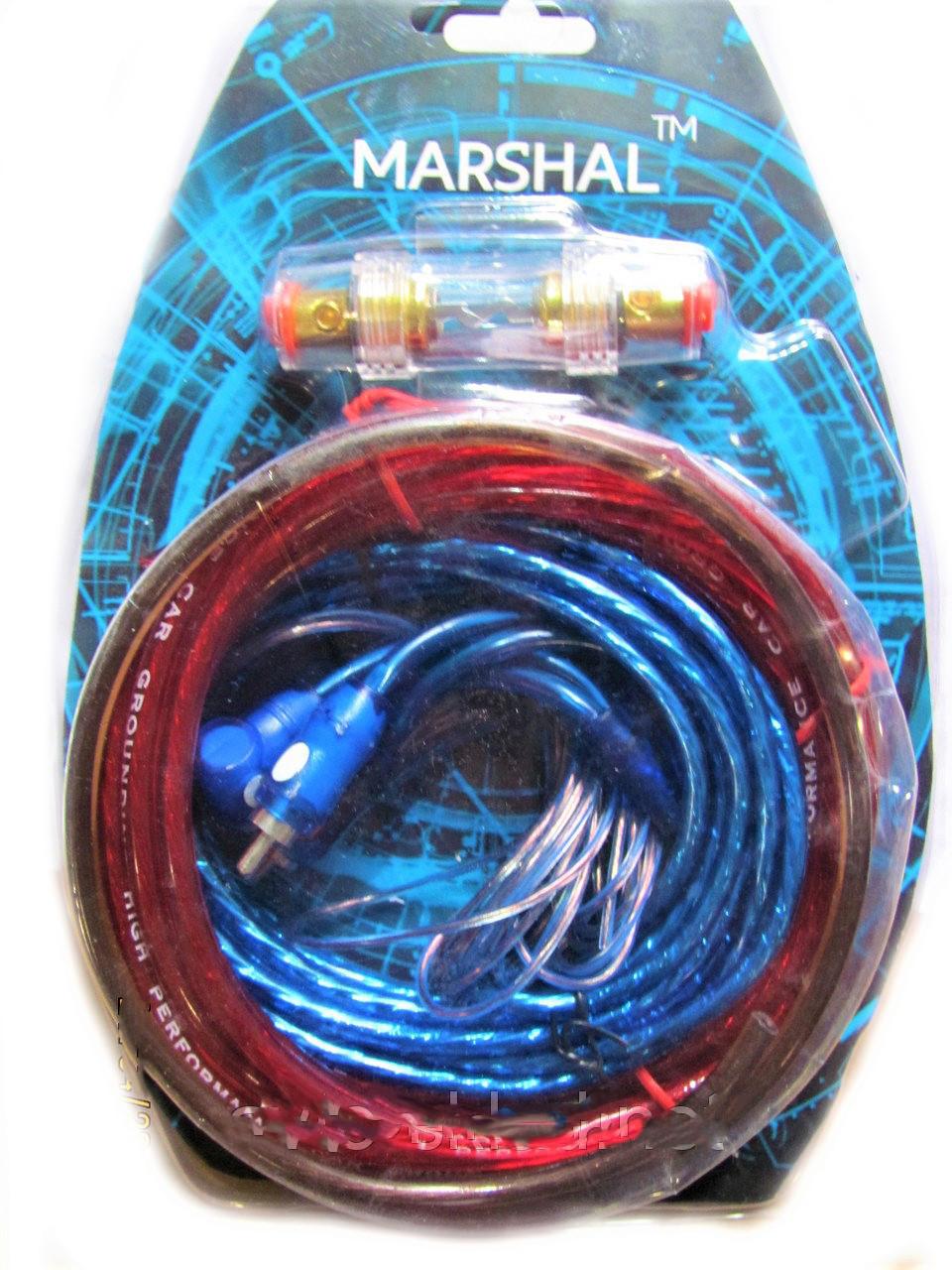 Комплект проводів для сабвуфера Marshal M8 | Дроти для підключення підсилювача для сабвуфера