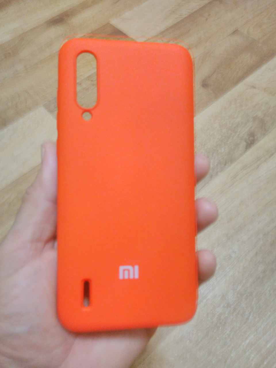 Накладка   Silicon Cover full   для  Xiaomi  MI  CC9 / MI A3  lite  ( красный)