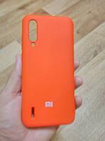 Накладка   Silicon Cover full   для  Xiaomi  MI  CC9 / MI A3  lite  ( красный), фото 1
