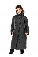 ✔️ Зимнее пальто пуховик молодежное 44-54 размера черный