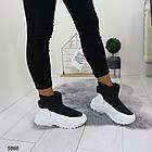 Женские зимние ботинки черного цвета, эко кожа/плащевка  40 ПОСЛЕДНИЕ РАЗМЕРЫ, фото 2