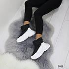 Женские зимние ботинки черного цвета, эко кожа/плащевка  40 ПОСЛЕДНИЕ РАЗМЕРЫ, фото 3