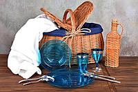 Посуда пластиковая многоразовая плотная для пикника. Полная сервировка стола 90 шт 6 чел, фото 1