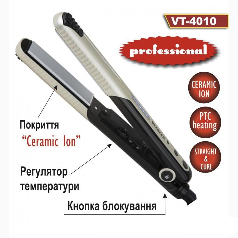 Выпрямитель для волос VITALEX VT - 4010 утюжок плойка щипцы для укладки волос ( Виталекс )