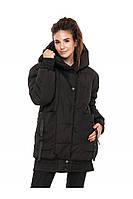 ✔️ Зимняя молодежная куртка объемная 44-54 размера черная