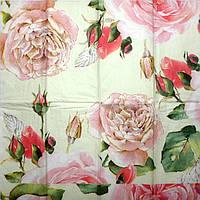 """Салфетка для декупажа, 21х21см, """"Розы"""""""