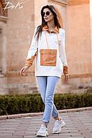 Кофта женская стильная в расцветках 51477, фото 1