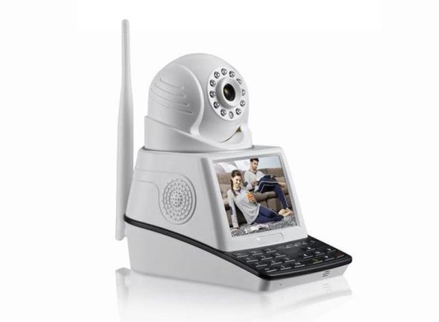 Камера видеонаблюдения NET CAMERA 4 в 1 с экраном и датчиком движения