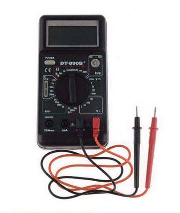 Мультиметр тестер с защитой от перегрузок DT 890B, фото 2