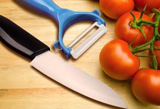 Керамічний ніж для очищення шкірки PN 15, фото 2