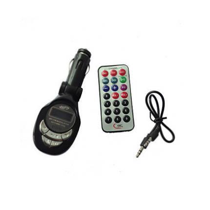 Автомобильный FM модулятор M MOD. CM 011 с зарядкой для телефона от прикуривателя, фото 2
