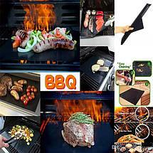 Антипригарний килимок гриль мат 33 * 40 см BBQ grill sheet, фото 2