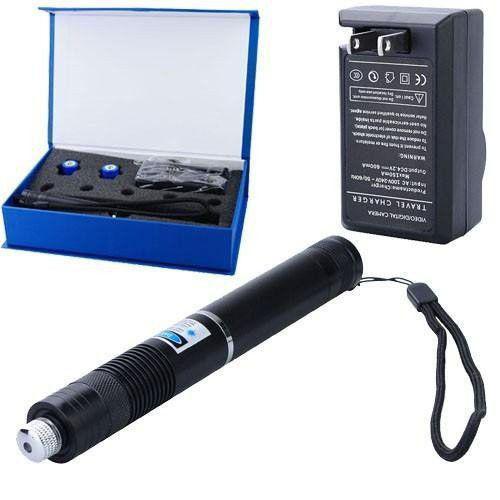 Лазерна указка LASER BLUE YXB 008 | Пропалюючий лазер