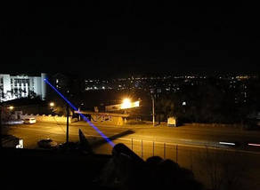 Лазерна указка LASER BLUE YXB 008 | Пропалюючий лазер, фото 2