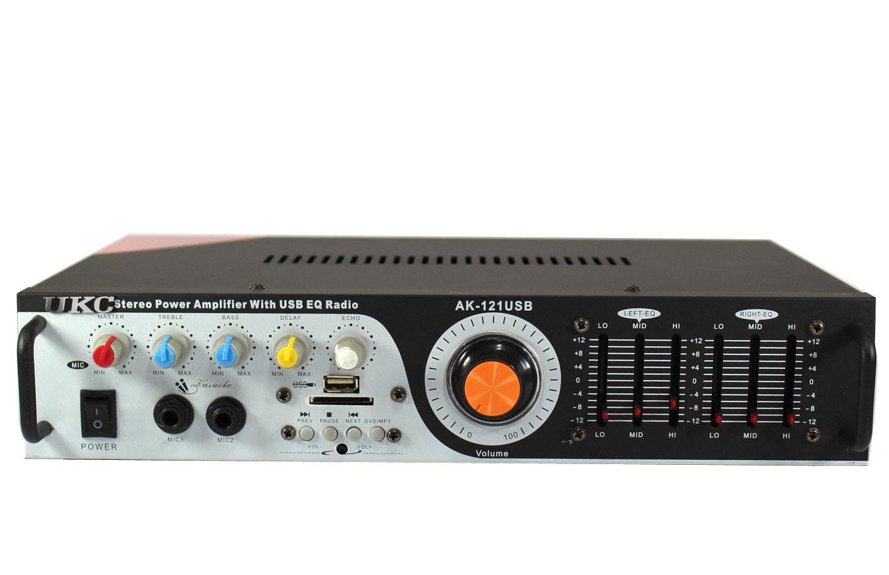 Усилитель звука UKC AMP 121   Караоке