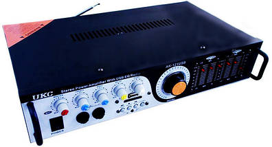 Усилитель звука UKC AMP 121   Караоке, фото 2