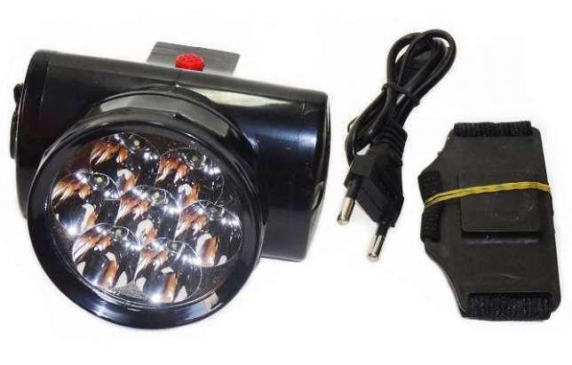 Налобный аккумуляторный фонарь YAJIA YJ-1858 7LED