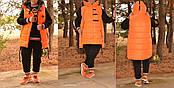 Стильный тёплый женский спортивный костюм из трёх нитки с начёсом  батал с 48 по 82 размер, фото 3