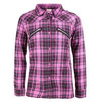 Рубашка в клетку на девочек,glo-story