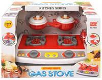 Детская кухонная плита с посудой Gas stove 1953