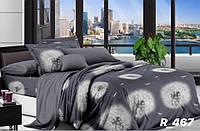 Комплект постельного белья Евро стандарта Ranforce одуванчики