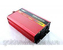 Автомобільний перетворювач напруги інвертор POWER INVERTER з 24V на 220 AC/DC 2500W 2500 Вт
