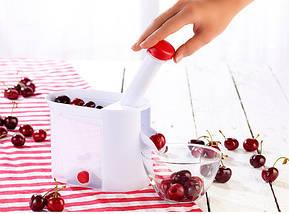 Машинка для удаления косточек с вишни Helfer Hoff Cherry and olive corer   Вишнечистка, фото 3