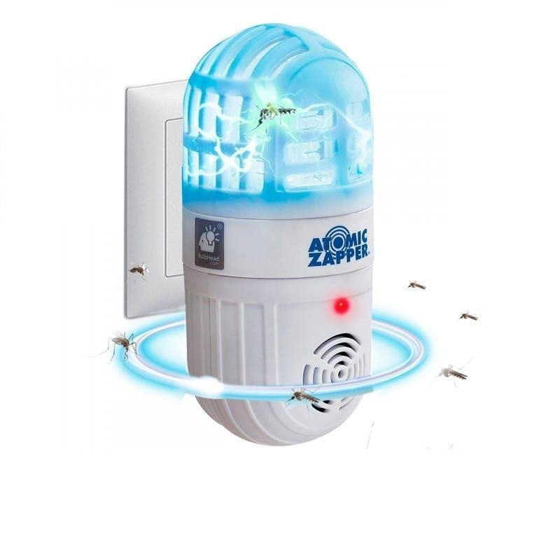 Ультразвуковой отпугиватель от комаров Atomic ZABBER | Антимоскитная лампа