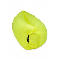 Надувной матрас-гамак Ламзак Original 2,2м Yellow