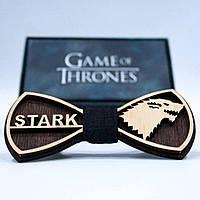 Эксклюзивный галстук-бабочка из дерева KRAGO Game of Thrones Stark KRG-01000, КОД: 187192