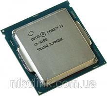 Процессор Intel Core i3-6100 3.7GHz/8GT/s/3MB, s1151 (BX80662I36100), Tray, б/у