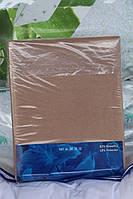 Простынь махровая на резинке FROTTE для матраса 180х200 см коричневая