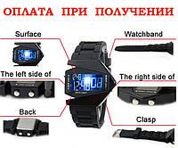 Часы мужские женские детские спортивные электронные LED СТЕЛС STELS подарок