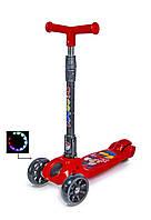 Самокат детский Scooter Smart Mini Микки Маус складная ручка!