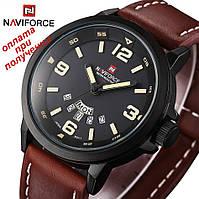 Мужские спортивные военные армейские часы NAVIFORCE NF9028M ОРИГИНАЛ