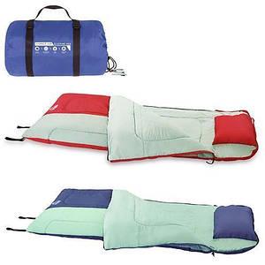 Спальный мешок 68047 SH Bestway в сумке | Спальник для туризма | Красный