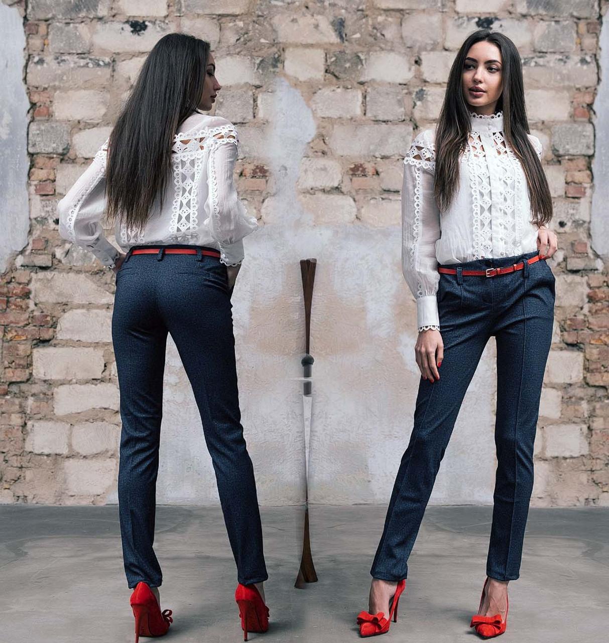 """Элегантные женские брюки 320 """"Алекс Классика Джинс"""""""