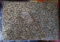Комплект полуторного постельного белья жатка Тирасполь коричневые завиточки