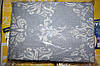 Комплект полуторного постельного белья жатка Тирасполь серого цвета