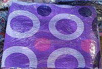 Комплект двуспального постельного белья жатка Тирасполь сиреневое