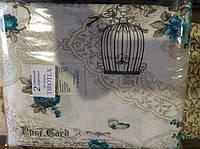Комплект двуспального постельного белья жатка Тирасполь попугай