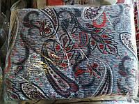 Комплект двуспального постельного белья жатка Тирасполь серо-красное