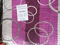 Комплект двуспального постельного белья жатка Тирасполь серо-фиолетовое