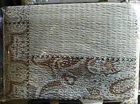 Комплект двуспального постельного белья жатка Тирасполь молочного окраса